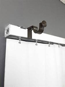 Nono bracket outside mounted blinds curtain rod bracket for Curtain rod brackets over blinds