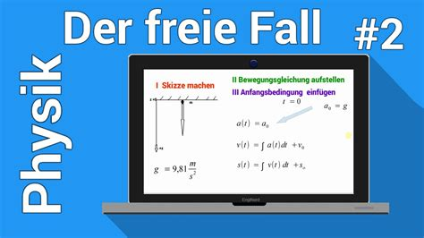 der freie fall fallzeit berechnen  der physiknachhilfe