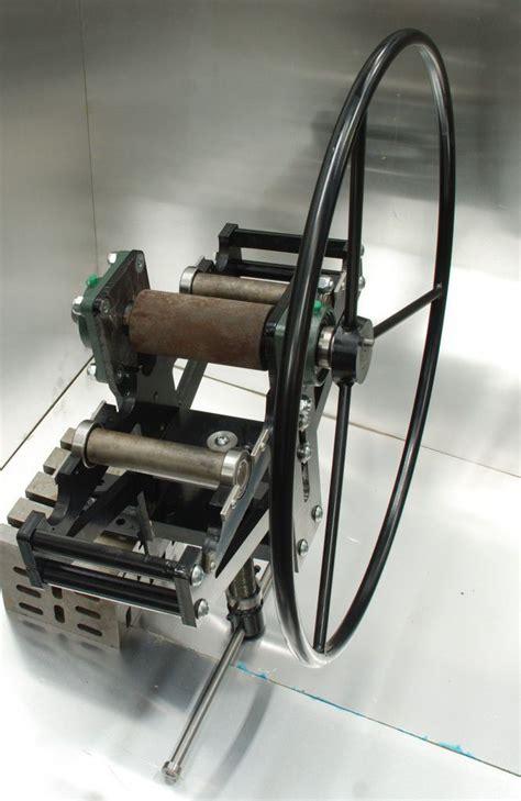 ring roller bender mm width metal rollers