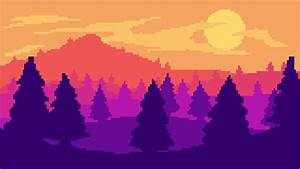 Pixel art landscape by Mockingjay1701 on DeviantArt