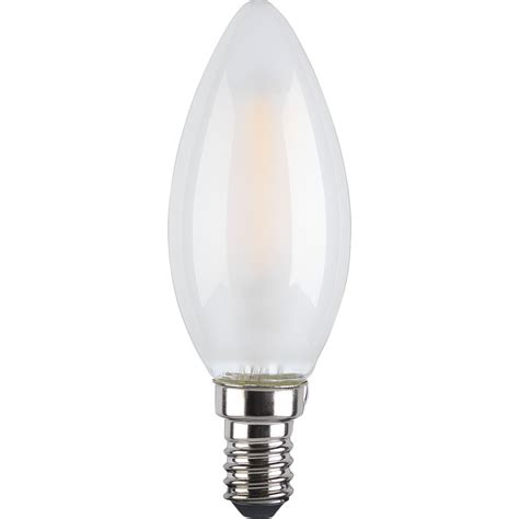 wilko led bulb filament candle ses 4w frosted at wilko