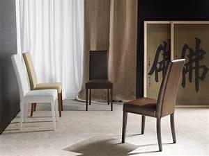 Sedia per sala da pranzo, imbottita, finiture personalizzabili IDFdesign