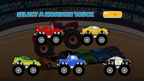 monster truck racing games for kids monster truck game for kids android apps on google play