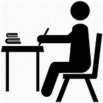 Study Icon Transparent Scholar Studying Student Reading