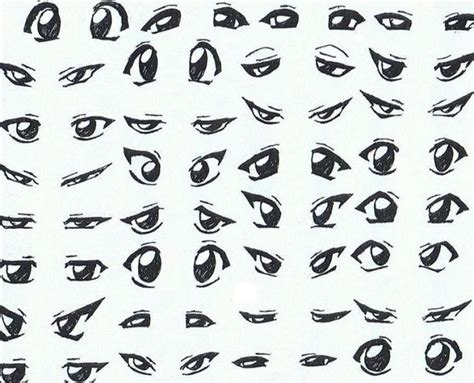 How To Draw Anime Boys Eyes Pictures 2