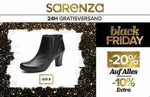 Wann Ist Der Black Friday 2018 : 20 rabatt auf alle schuhe taschen bei sarenza black ~ Orissabook.com Haus und Dekorationen