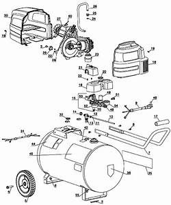 Sears Craftsman 919 167630 Air Compressor Parts