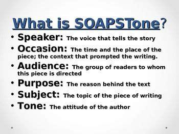 Soapstone Literature - soapstone understanding non fiction writing expository