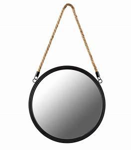 Miroir Rond Suspendu : miroir rond suspendu id es de d coration int rieure french decor ~ Teatrodelosmanantiales.com Idées de Décoration