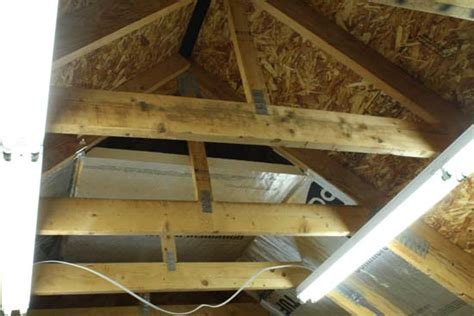 Insulating Cathedral Ceiling With Rigid Foam by Insulating Cathedral Ceiling With Foam Board Home