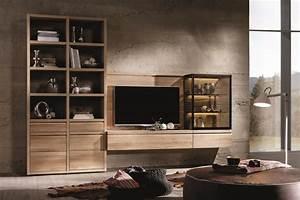 Meuble Tele Haut : meuble tv design votre meuble design tv en noyer ou en ch ne ~ Teatrodelosmanantiales.com Idées de Décoration