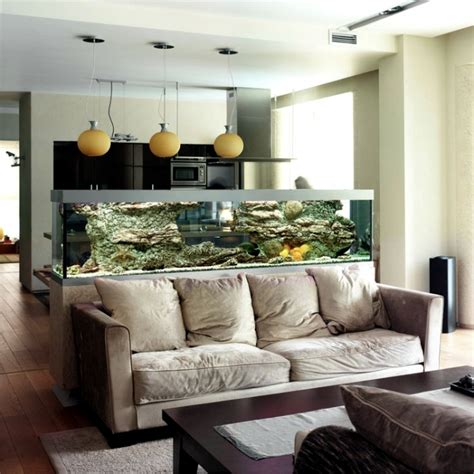 space saving ideas for small 100 ideas integrate aquarium designs in the wall or in the