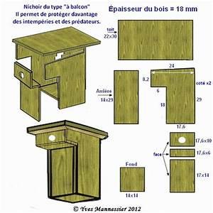 Plan Nichoir Oiseaux : nichoirs oiseaux type balcon nichoirs pour oiseaux du jardin birdhouse nistkasten ~ Melissatoandfro.com Idées de Décoration