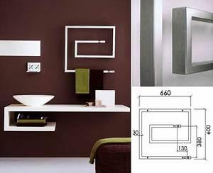 radiateur porte serviette eau chaude aluminium hox krom With porte d entrée alu avec seche serviette electrique mural salle de bain