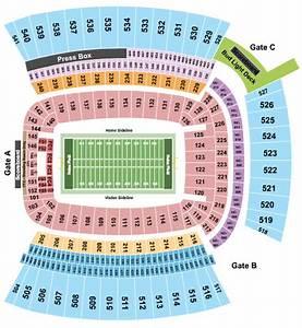 Heinz Field Seating Chart