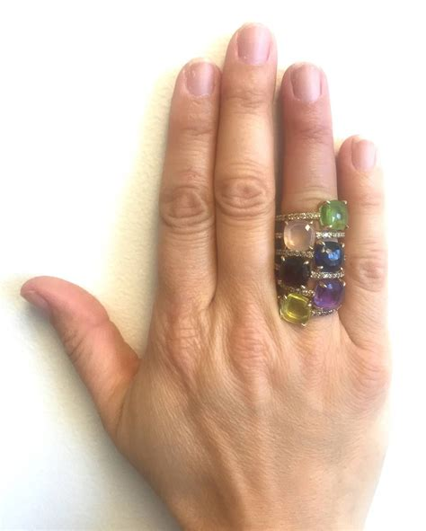 pomellato baby pomellato baby peridot gold ring ringe