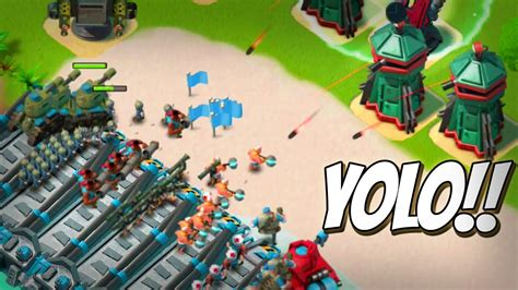 Boom Beach Boat by Boom Beach Maxed Yolo Strategy Vs Dr Terror One Boat Of