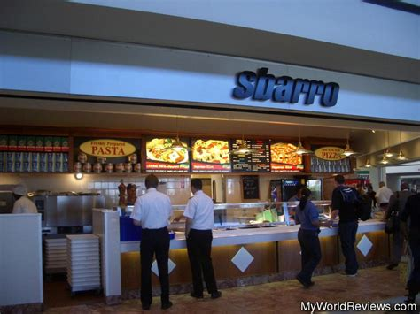 Review Of Sbarro At
