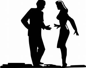 Man And Woman Silhouette Standing   www.pixshark.com ...