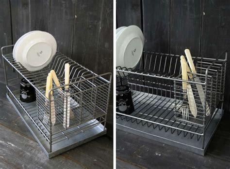easy pieces countertop dish drainers remodelista