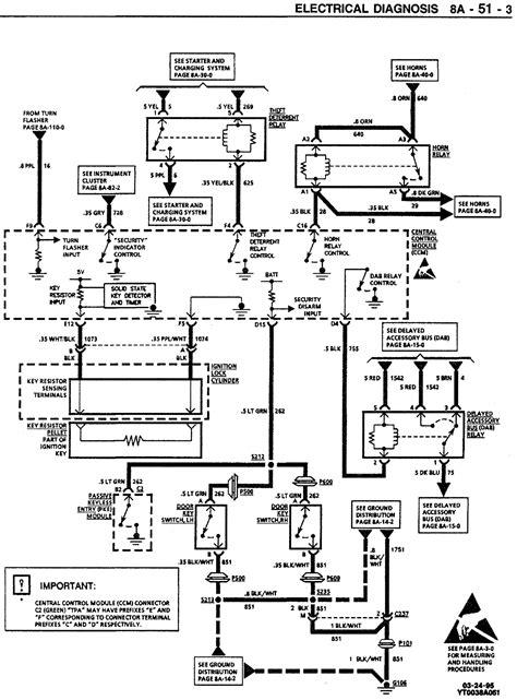 C4 Fuel Wire Diagram by Batee 1996 C4 Corvette Dash Cluster Instrument