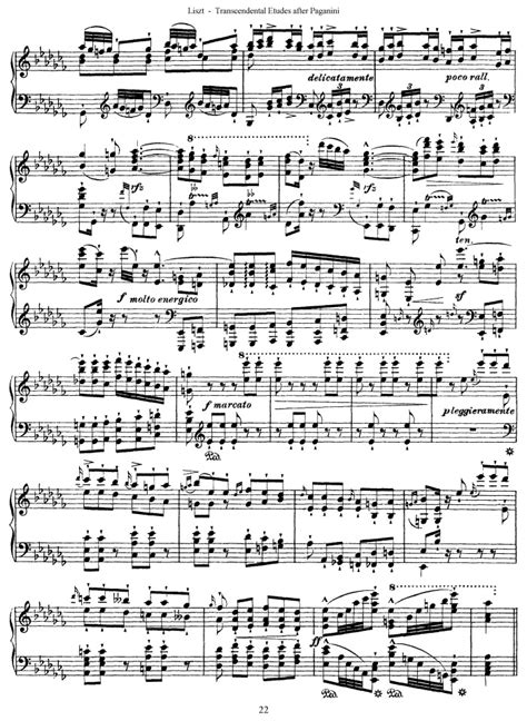 s 140 etude no 3 canella free sheet music by liszt