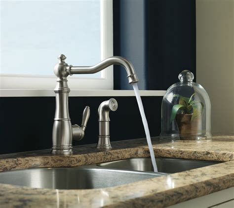 moen  weymouth  handle high arc kitchen faucet