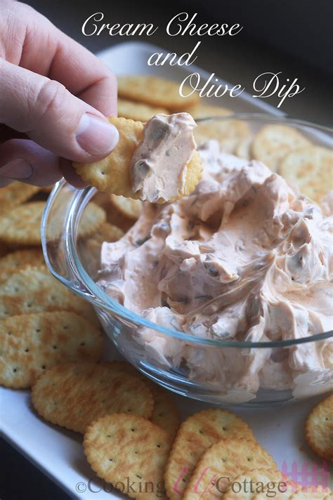 Cream Cheese And Olive Dip Cooking Up Cottage
