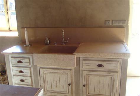 office de cuisine evier en granit et naturel cuisine douillet