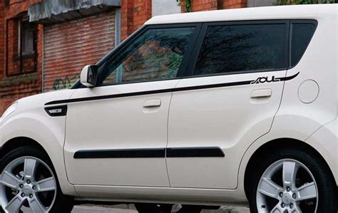 Kia Soul Decal by Product Side Rocker Panel Stripes Graphics Decals For Kia
