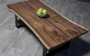 sale black walnut split coffee table natural live edge With black walnut coffee table for sale