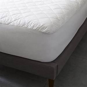 essential down alternative mattress pad west elm With essential mattress pad