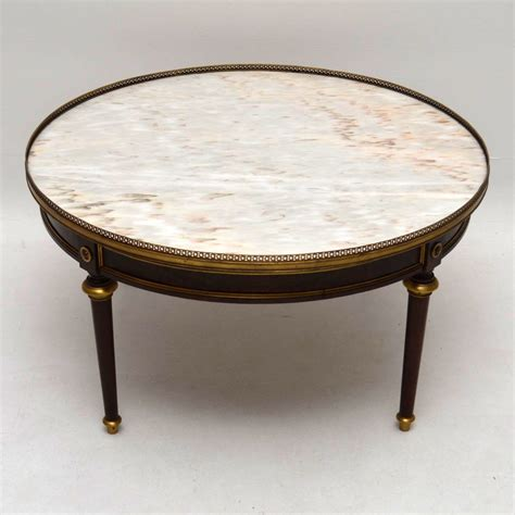 antique marble top coffee table large antique french marble top coffee table c 1910