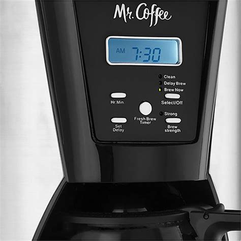 This is the perfect quantity for 1 to 2 people without taking up too much. Mr. Coffee BVMCMJX41NWF 12-Cup Pot Programmable Coffee Maker, Black/Silver - Walmart.com ...