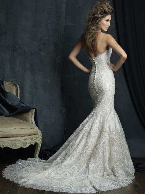 Allure Bridals Couture C385 Sweetheart Mermaid Wedding