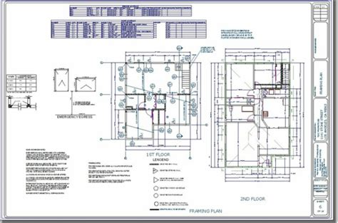 cad drafting services construction plans blueprint