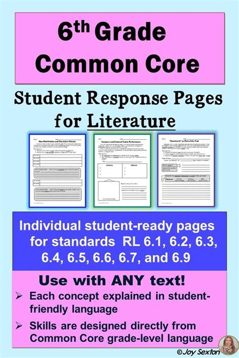 Common Core Reading Standards, Common Cores And Literature On Pinterest