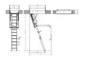 Pose Escalier Escamotable Sur Fermette by Xilipan Produits Escaliers Escamotables
