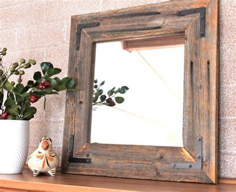 wooden bathroom mirrors ready to ship rustic modern mirror reclaimed wood mirror 15225