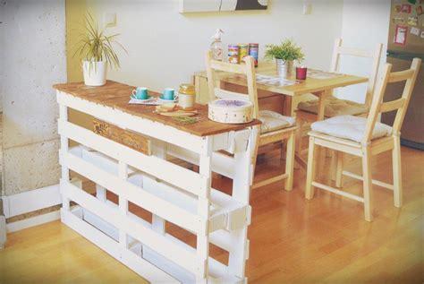 meuble cuisine en palette ilot central en palette dootdadoo com idées de