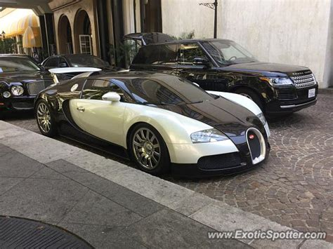 Bugatti Veyron Spotted In Beverly Hills, California On 07