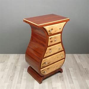 commode art deco en palissandre meubles art deco With meuble art deco