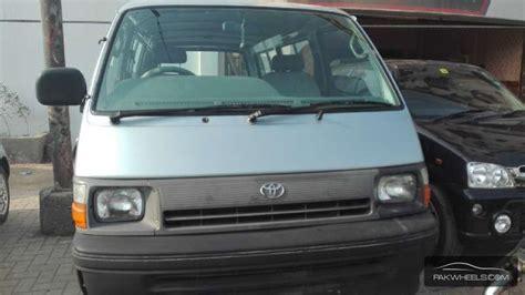 toyota hiace 1991 for sale in karachi pakwheels