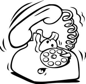 telephone clipart black and white phone clip at clker vector clip