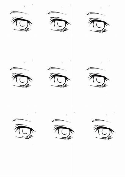Coloring Eye Practice Sheet Copic Pages Template