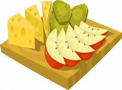 Snack Clipart Clip Snacks Pack Cartoon Healthy