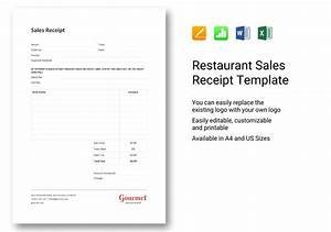 Excel Bank Register Restaurant Sales Receipt Template In Word Excel Apple