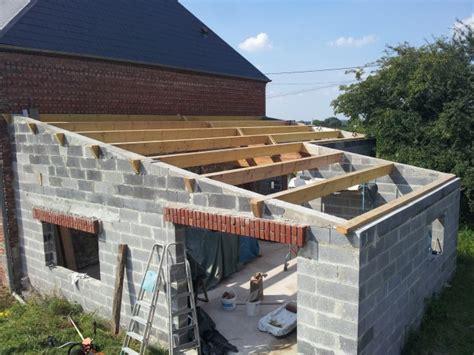 garage bois adosse maison modele de charpente en bois 1 pente immobilier pour tous immobilier pour tous
