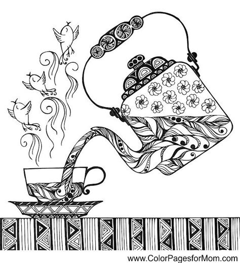 So many awesome designs for all interests and seasons. coffee coloring page 33 | Coloring pages, Adult coloring pages, Doodle coloring
