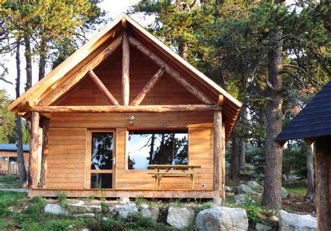 location chalets huttopia font romeu location vacances